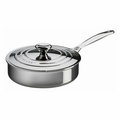 Le Creuset 3 Qt. Sauté Pan with Lid - Stainless Steel - SSP5100-24