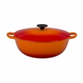 Le Creuset 4 1/2 Qt. Soup Pot - Flame - L2574-262