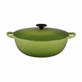 Le Creuset 4 1/2 Qt. Soup Pot - Palm - L2574-264P