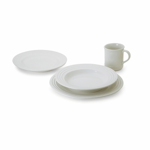 Le Creuset 4 Piece Dinnerware Set - White - PG9004-16