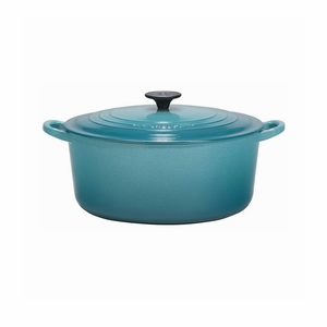 Le Creuset 5 1/2 Qt. Signature Round French Oven - Caribbean - LS2501-2617