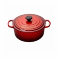 Le Creuset 5 1/2 Qt. Signature Round French Oven - Cherry - LS2501-2667