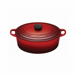 Le Creuset 5 Qt. Signature Oval French Oven - Cherry - LS2502-2967