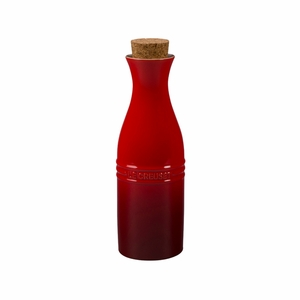 Le Creuset 750 ml Wine Carafe w/Cork - Cherry - PG6380C-2567