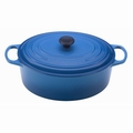 Le Creuset 9 1/2 Qt. Signature Oval French Oven - Marseille - LS2502-3559