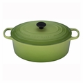 Le Creuset 9 1/2 Qt. Signature Oval French Oven - Palm - LS2502-354P