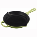 "Le Creuset 9"" (1 3/8 Qt.) Signature Iron Handle Skillet - Palm - LS2024-234P"