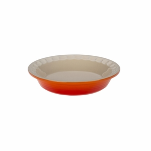 "Le Creuset 9"" Heritage Pie Dish - Flame - PG1855-232"