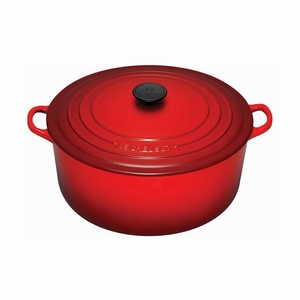Le Creuset 9 Qt. Signature Round French Oven - Cherry - LS2501-3067