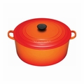 Le Creuset 9 Qt. Signature Round French Oven - Flame - LS2501-302