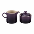 Le Creuset Cream and Sugar Set - Cassis - PG8005-1072