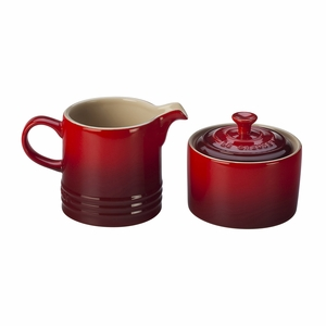 Le Creuset Cream and Sugar Set - Cherry - PG8005-1067