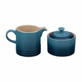 Le Creuset Cream and Sugar Set - Marine - PG8005-106M