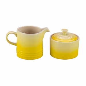 Le Creuset Cream and Sugar Set - Soleil/Sun - PG8005-101M