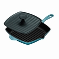 Le Creuset Panini Press and Skillet Grill Set - Caribbean - L4098-17