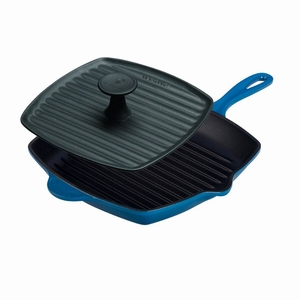 Le Creuset Panini Press and Skillet Grill Set - Marseille - L4098-59