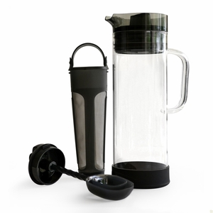 Primula 50 oz. Cold Brew Iced Coffee Maker - Smokey Grey - PCBGY-5450