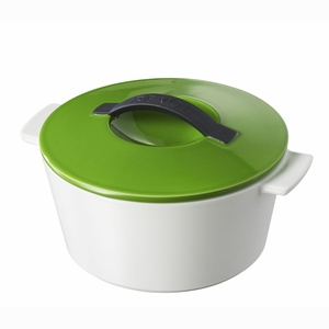 Revol Revolution 1.75 Qt Round Cocotte w/Lid - Lime Green - 642297