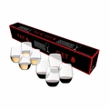 "Riedel O Cabernet Sauvignon/Merlot/Bordeaux and ""O"" Viognier/Chardonnay Buy 8 Pay 6 Glasses - Set of 8 - 5414/50"