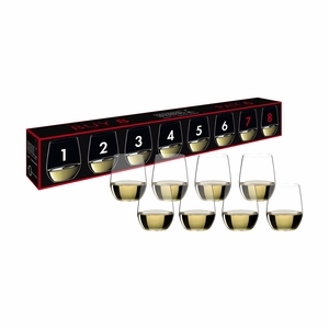 Riedel O Viognier/Chardonnay Buy 8 Pay 6 Glasses - Set of 8 - 5414/85