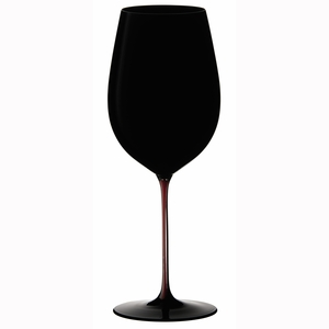 Riedel Sommeliers Black Series - Black/Red/Black Bordeaux Grand Cru Glass - 4100/00BRB