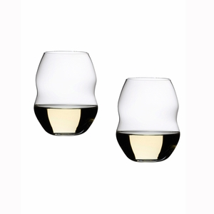 Riedel Swirl White Wine Glasses - Set of 2 - 0450/33
