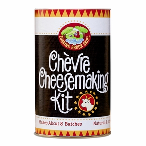 Roaring Brook Dairy DIY Chevre Cheesemaking Kit - RBD23221