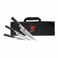 Shun Classic 4 Pc Student Knife Set - DMS0499