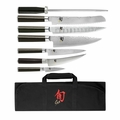 Shun Classic 8 Pc Student Knife Set - DMS0899