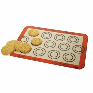 """Silpat Perfect Cookie Baking Mat - 11 5/8"""" x 16 1/2"""" - AE420295-12"""