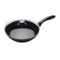 "Swiss Diamond - 11"" Induction EDGE Stir Fry Pan w/Lid - 6528ic"