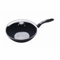 "Swiss Diamond - 11"" Induction Wok w/Cover - 61128ic"