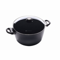 "Swiss Diamond - 11"" Stock Pot w/Lid - 6128c"