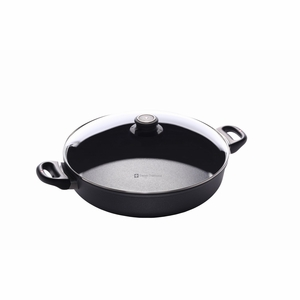 "Swiss Diamond - 12.5"" Induction Sauteuse w/Lid - 6632ic"