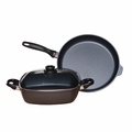 Swiss Diamond - 3 Pc Induction Cookware Set - 328i