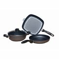 Swiss Diamond - 4 Pc Cookware Set - 604