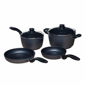 Swiss Diamond - 6 Pc Induction Cookware Set - 6006i