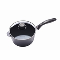 "Swiss Diamond - 8"" Sauce Pan w/Lid - 6720c"