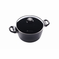 "Swiss Diamond - 9.5"" Induction Soup Pot w/Lid - 6124ic"