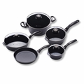 Swiss Diamond - 9 Pc Italian Cooking Set - 605
