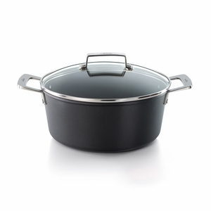 "Valira Aire 9.4"" Tall Saucepan w/Glass Lid Induction - 4669/25"
