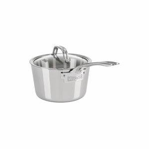 Viking Contemporary 3-Ply - 2.4 Qt. Sauce Pan w/Lid - Mirror Finish - 4013-3002