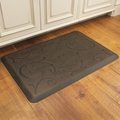WellnessMats Motif Collection - Bella - Antique Dark - 3' x 2' - MB32WMRDB