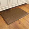WellnessMats Motif Collection - Bella - Antique Light - 3' x 2' - MB32WMRLT