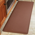 WellnessMats Motif Collection - Bella - Brown - 6' x 2' - MB62WMRBRN