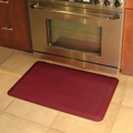 WellnessMats Motif Collection - Bella - Burgundy - 3' x 2' - MB32WMRBUR