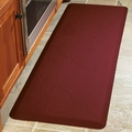 WellnessMats Motif Collection - Bella - Burgundy - 6' x 2' - MB62WMRBUR