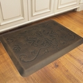WellnessMats Motif Collection - Entwine - Antique Dark - 3' x 2' - ME32WMRDB