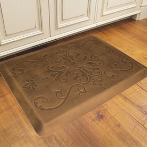 WellnessMats Motif Collection - Entwine - Antique Light - 3' x 2' - ME32WMRLT
