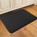 WellnessMats Motif Collection - Entwine - Black - 3' x 2' - ME32WMRBLK